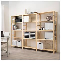 IKEA  IVAR ( 292.483.74) 3 секції/полиці 259x30x179 см