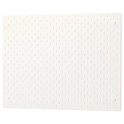 IKEA SKADIS (103.216.18) Настінна перфорована дошка, білий 76x56 см