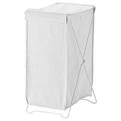IKEA TORKIS (903.199.75) Корзина для белья, белый/серый