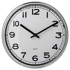IKEA PUGG (103.919.08) Годинник настінний, нержавіюча сталь