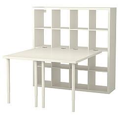 IKEA KALLAX (091.230.87) Письменный стол, белый