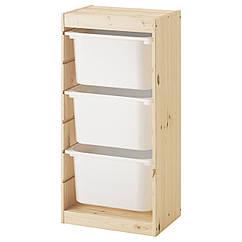 IKEA TROFAST (291.030.07) Комбінація для зберіган +контейнери 44x30x91 см
