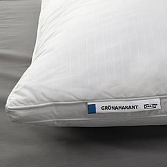 IKEA GRÖNAMARANT (204.604.11) Подушка, висока д/сну на боці/спині 50x60 см