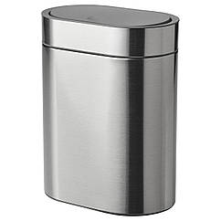 IKEA BROGRUND (704.333.64) Контейнер для сміття з кришкою 4 л