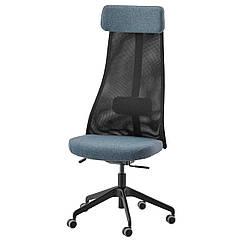 IKEA JÄRVFJÄLLET (203.635.99) Офісний стілець, ГУННАРЕД синій