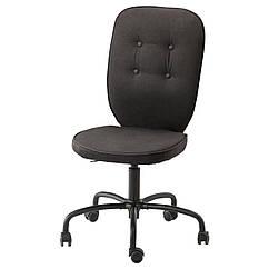 IKEA LILLHOJDEN (102.214.02) Обертовий стілець, ІДЕМО чорний