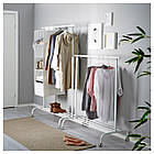 IKEA RIGGA (502.316.30) Штанга для одягу, фото 3