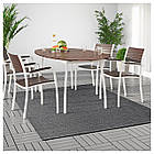 IKEA MORUM (402.035.57) Килим, пласке плетіння, приміщ/вул 160x230 см, фото 6