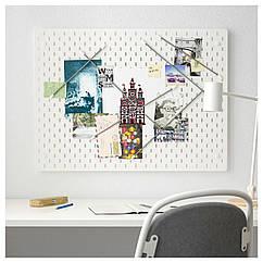 IKEA SKADIS (492.173.81) Комбінація перфорованої дошки 76x56 см