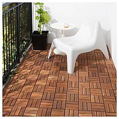 IKEA RUNNEN (902.342.26) Половая доска, сад, коричневое пятно