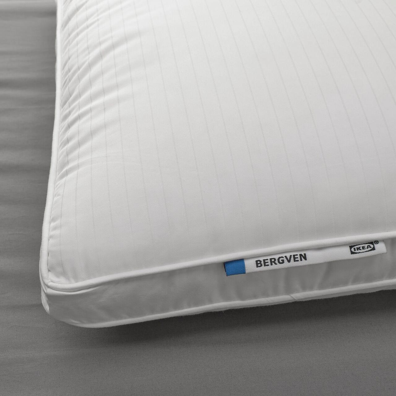 IKEA  BERGVEN (004.602.14) Подушка, висока для сну на боці/спині 50x60 см