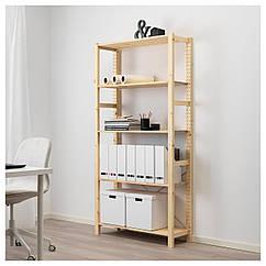 IKEA IVAR ( 492.483.11) Стелаж, сосна 89x30x179 см