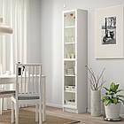 IKEA BILLY / OXBERG ( 392.873.98) Книжкова шафа зі скляними дверцятам 40x30x202 см, фото 5