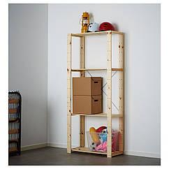 IKEA HEJNE  (390.314.11) 1 секція 78x31x171 см