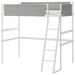 IKEA VITVAL (104.112.42) Каркас ліжка-горища, білий/світло-сірий 90x200 см