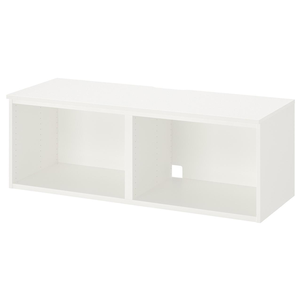 IKEA  PLATSA ( 203.473.16) Тумба під телевізор, білий 120x42x42 см