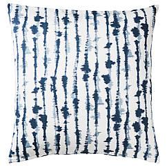 IKEA STRIMSPORRE ( 204.326.54) Чохол для подушки , білий/синій 50x50 см