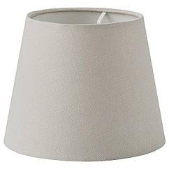 IKEA SKOTTORP ( 104.490.04) Абажур, світло-сірий 19 см