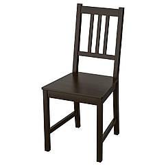 IKEA STEFAN (002.110.88)  Стілець , коричнево-чорний