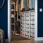 IKEA JONAXEL ( 092.974.88) Каркас з сітчастими кошиками, білий 50x51x104 см, фото 7