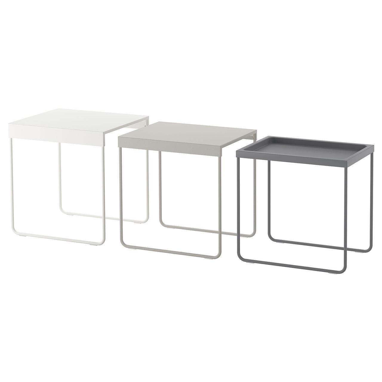IKEA GRANBODA (503.511.75) Комплект столів, 3 шт