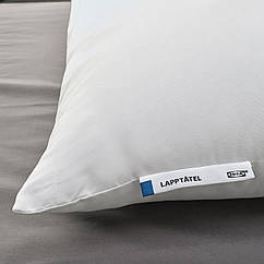 IKEA LAPPTÅTEL (404.603.68) Подушка, висока д/сну на боці/спині 50x60 см