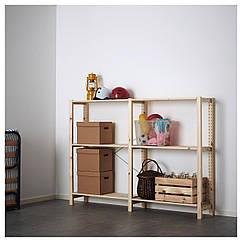 IKEA  IVAR ( 692.483.48) 2 секції/полиці 174x30x124 см