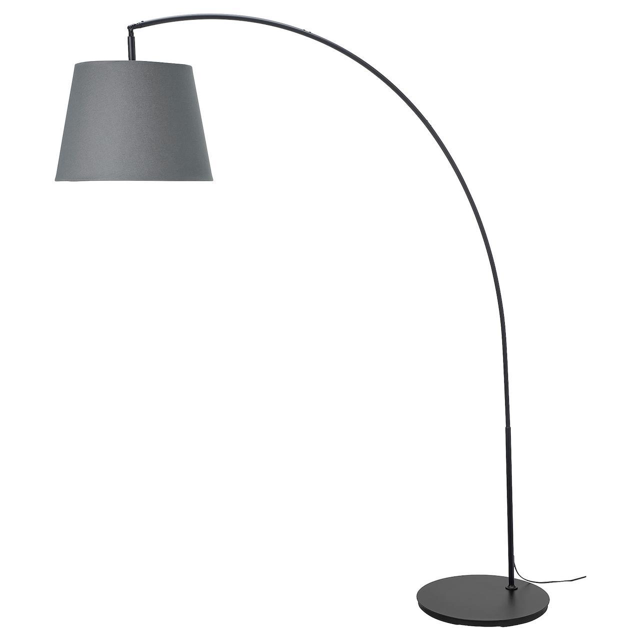 IKEA SKOTTORP / SKAFTET (693.859.86) Торшер дугоподібний