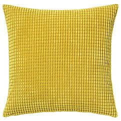 IKEA GULLKLOCKA  GULLKLOCKA (002.863.85) Чохол для подушки , жовтий 50x50 см