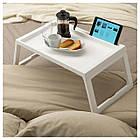 IKEA KLIPSK (002.588.82) Піднос на ніжках, білий, фото 2