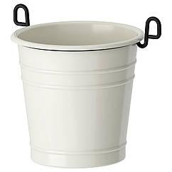 IKEA FINTORP (002.020.79) Сушарка для столових приборів, білий/чорний 13x13 см