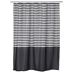 IKEA VADSJON (103.490.66) Шторка для душу, темно-сірий 180x200 см