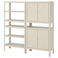 IKEA  KOLBJÖRN (192.971.57) Стелаж, 2 шафи 171x37 см