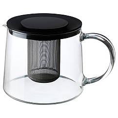 IKEA RIKLIG (901.500.71) Чайник, стекло