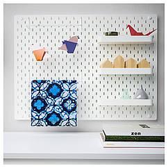 IKEA  SKÅDIS (392.170.70) Комбінація перфорованої дошки 76x56 см