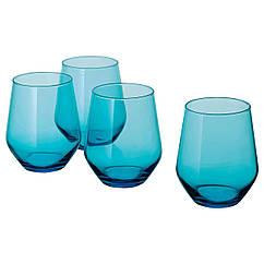 IKEA  IVRIG ( 204.449.30) Склянка, бірюзовий 45 сл