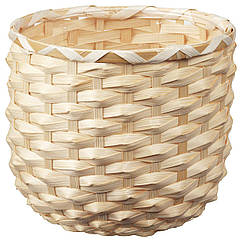 IKEA KAFFEBÖNA ( 204.236.21) Кашпо, бамбук 15 см