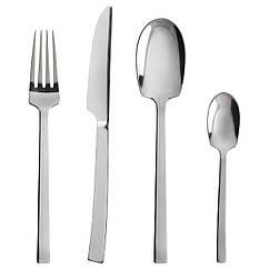 IKEA SMAKGLAD (103.045.34) Набір столових приборів 24 предмети, нержавіюча сталь