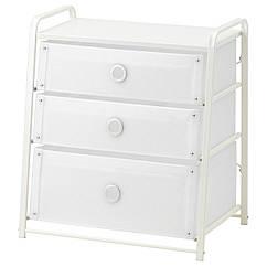 IKEA LOTE (502.937.22) Комод із 3 шухлядами 55x62 см