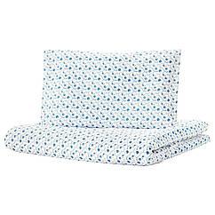 IKEA  GULSPARV ( 204.270.68) Підковдра+1 наволочка д/ліжка д/нем, візерунок чорниця 110x125/35x55 см
