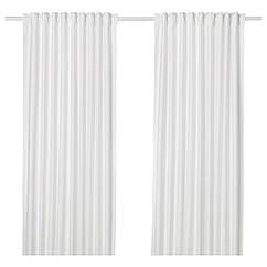 IKEA ANNALOUISA (104.108.17) Штори, 1 пара, білий 145x300 см