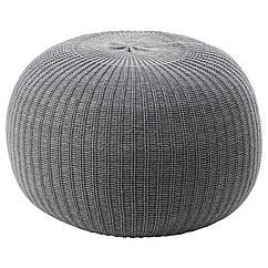 IKEA  SANDARED (003.853.09) Пуф, сірий 56 см