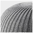 IKEA SANDARED (003.853.09) Пуф, сірий 56 см, фото 3