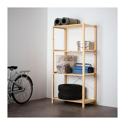 IKEA  IVAR ( 592.483.20) 1 секція/полиці 89x50x179 см