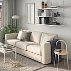 IKEA BERGSHULT / PERSHULT (592.911.58) Комбінація навісних полиць 120x30 см, фото 3