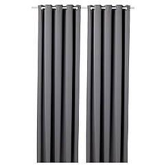 IKEA HILLEBORG ( 304.250.35) Затемнювальні штори, 1 пара 145x300 см