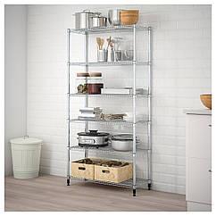 IKEA OMAR   (698.290.83) 1 стелаж 92x36x181 см