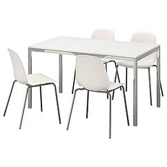 IKEA TORSBY / LEIFARNE (791.615.61) Стол и 4 стула