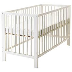 IKEA GULLIVER (102.485.19) Ліжко для немовлят, білий 60x120 см