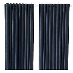 IKEA SANELA (404.444.82) Світлонепроникні штори, пара 140x300 см